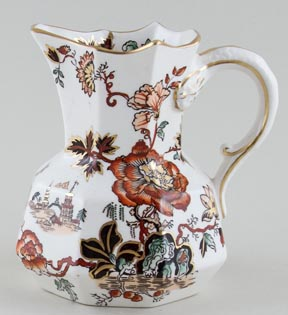 Masons Golden Azalea colour Jug or Pitcher hydra