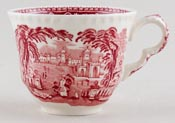 Masons Vista pink Teacup c1950s