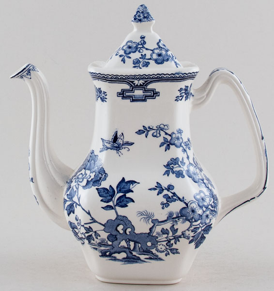 Masons Manchu Coffee Pot SALE PRICE £22