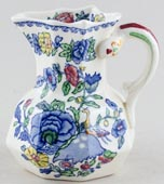 Masons Regency colour Jug or Pitcher hydra c1930