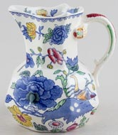 Masons Regency colour Jug or Pitcher Hydra