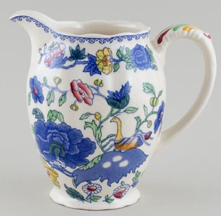 Masons Regency colour Jug or Pitcher c1950
