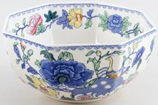 Masons Plantation Colonial colour Bowl octagonal