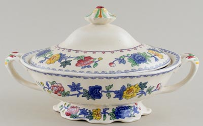 Masons Regency colour Vegetable Dish