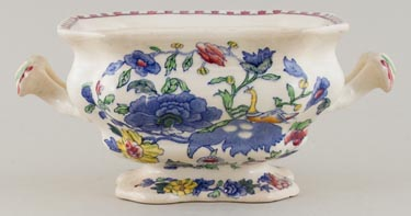 Masons Plantation Colonial colour Sauce Tureen Bedford