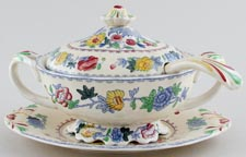 Masons Regency colour Sauce Tureen