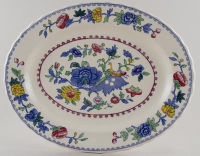 Masons Regency colour Meat Dish or Platter
