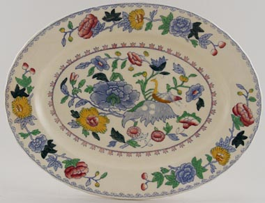 Masons Regency colour Meat Dish or Platter small