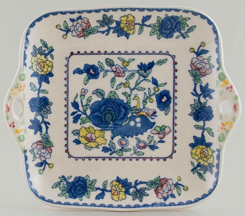 Masons Regency colour Cake Plate