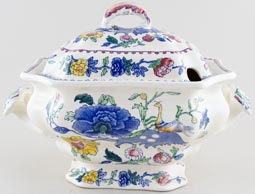 Masons Plantation Colonial colour Soup Tureen Bedford