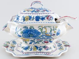Masons Regency colour Soup Tureen Bedford