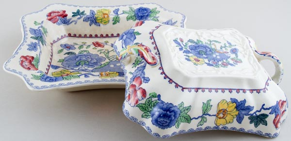 Masons Regency colour Covered Dish