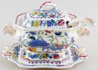 Masons Regency colour Sauce Tureen Bedford