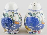 Masons Regency colour Salt and Pepper Pots