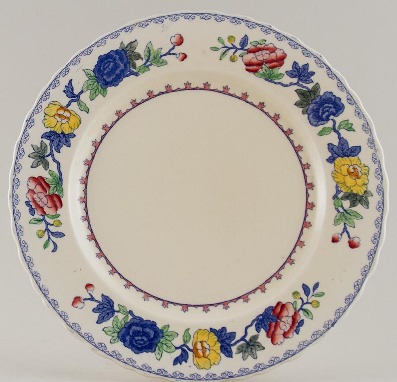 Masons Regency colour Plate