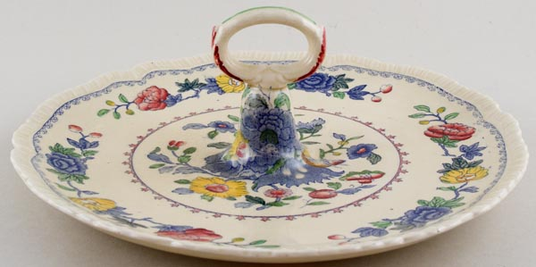 Masons Regency colour Serving Plate with Handle