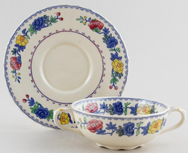 Masons Regency colour Soup Cup and Saucer