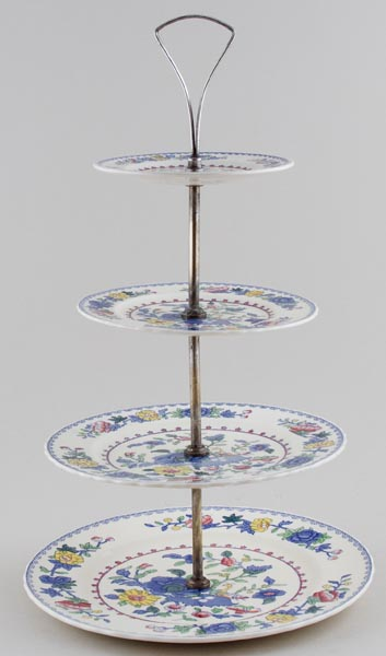 Masons Regency colour Cake Stand 4 tier