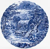Meakin Alfred The Mill Plate c1960s