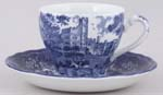 Teacup and Saucer c1980s Haddon Hall