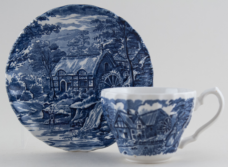 Meakin Alfred The Mill Teacup and Saucer c1980
