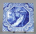 Tile The Dog and Crow c1870