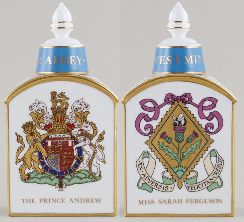 Minton Royal Wedding colour Caddy c1986