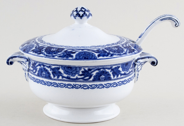 Minton Humber Sauce Tureen and Ladle c1926