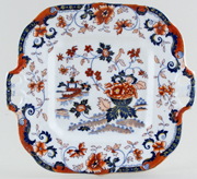 Bread and Butter or Cake Plate c1835