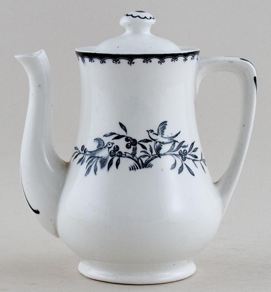 Unattributed Maker Kingston black Toy Coffee Pot c1931