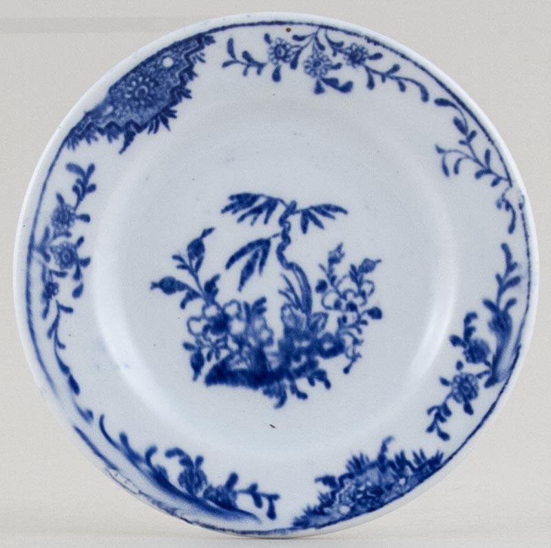 Unattributed Maker Unidentified Pattern Toy Plate c1880