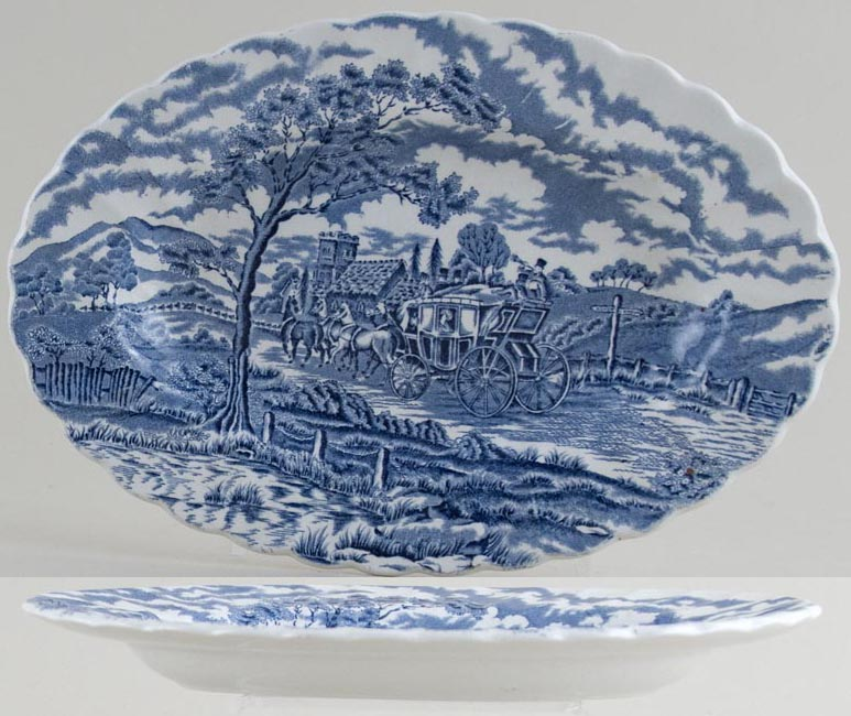 Myott Royal Mail Dish c1970s