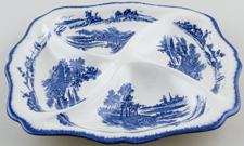Royal Doulton Norfolk Hors d'oeuvres dish c1930s