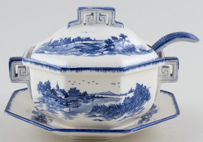 Royal Doulton Norfolk Sauce Tureen c1939