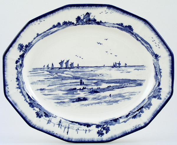 Royal Doulton Norfolk Meat Dish or Platter c1930s
