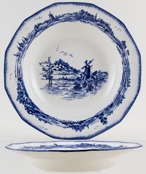 Royal Doulton Norfolk Soup Plate c1928