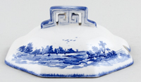 Royal Doulton Norfolk Sauce Tureen Cover c1930s
