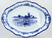 Meat Dish or Platter with tree and well c1906