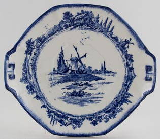 Royal Doulton Norfolk Bread and Butter Plate c1920s and 30s