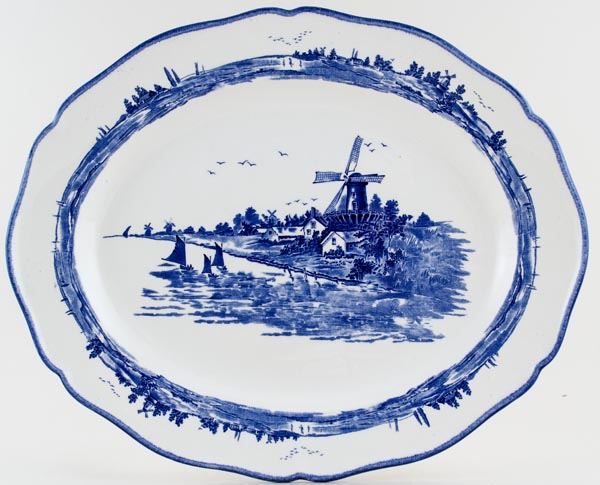 Royal Doulton Norfolk Meat Dish or Platter c1950s