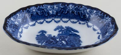 New Wharf Pottery Watteau Bowl c1916