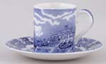 Coffee Can and Saucer c1920s
