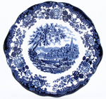 Bread and Butter Plate c1960s