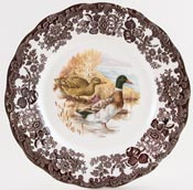 Palissy Game Series brown with colour Plate Mallard c1970