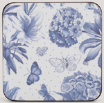 Portmeirion Botanic Blue Coasters set of Six