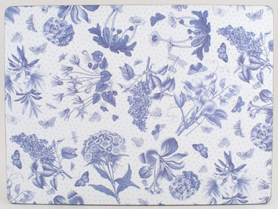 Portmeirion Botanic Blue Placemats Pack of Four