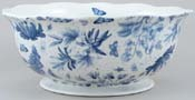 Portmeirion Botanic Blue Fruit or Salad Bowl large