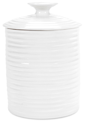 Portmeirion Sophie Conran White Storage Jar small