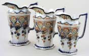 Jugs set of 3 c1915