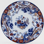 Ridgway Chinese Japan blue with colour Plate c1920